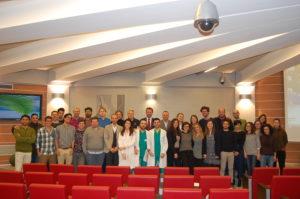 foto di gruppo winter school